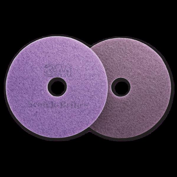 3M 27 inch Scotch Brite Purple Diamond Floor Pad Plus