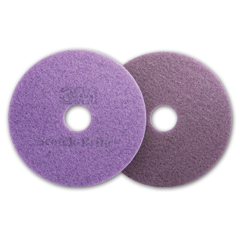 3M 27 inch Scotch Brite Purple Diamond Floor Pad Plus