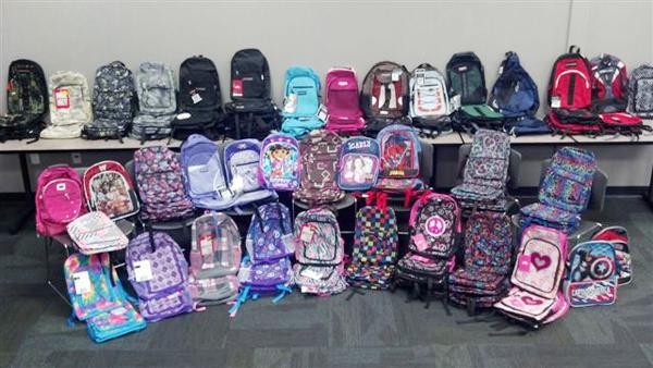 Backpack Fundraiser for Helen's Hope Chest