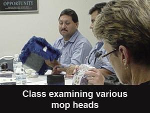 2012 TUC Class Examining Mop Head