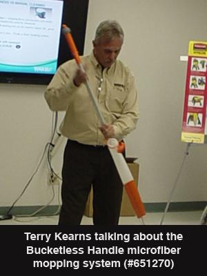 2012 TUC Terry Kearns Bucketless Mop