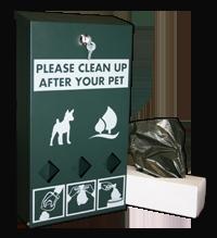 Doggie Waste Bags Dispenser 200px
