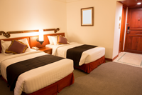 Hotel Room with Twin Beds 200px