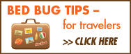 Bed Bug Tips for Travelers