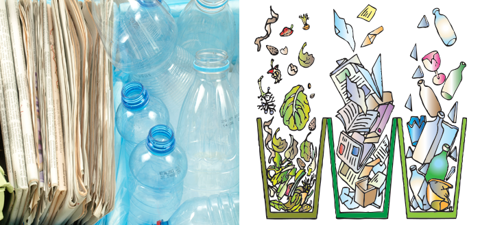America Recycles Day Zero Waste Collage