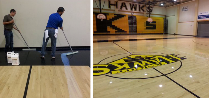 Five Tips for Refinishing Your Gym Floor