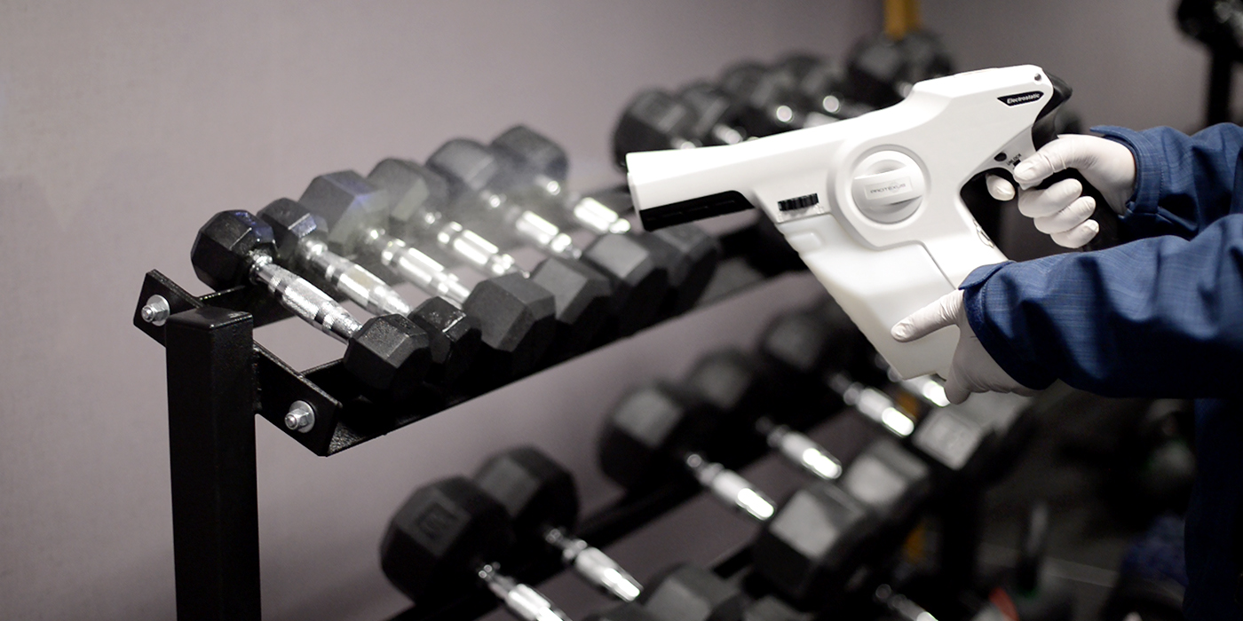 Electrostatic-Disinfectant-Spraying-in-Gym-Barbells_1400x700