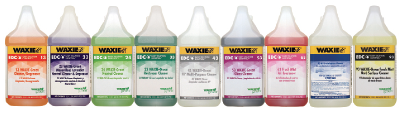WAXIE EDC Easy Dilution Control Products