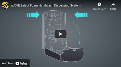WAXIE-Select-Handwash-Dispenser-Video