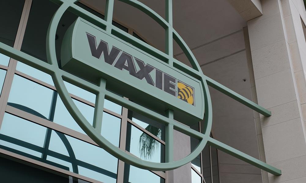 WAXIE-sign